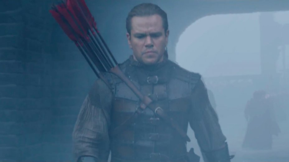 First Trailer for Matt Damon's 'The Great Wall' Debuts in China