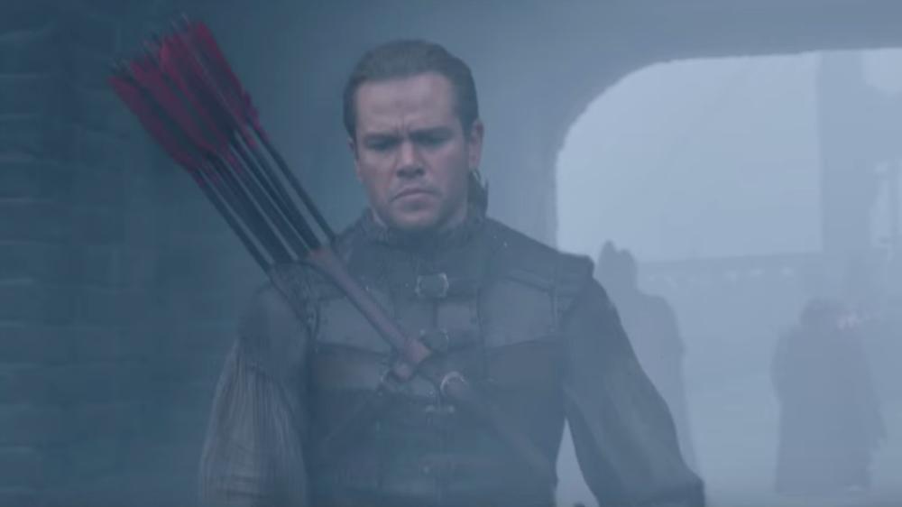 Matt Damon Prepares for Battle in the First Trailer for