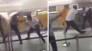 British man attacks police at German airport after woman knocked over by
