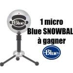"""Petit concours au calme, 1 micro @BlueMicrophones """"SnowBall"""" à gagner, ça part sur un RT + Follow pour participer ! https://t.co/u8ncKh2sKA"""