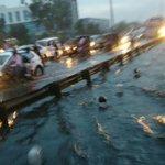 This is NH 8 today in Gurgaon after the heavy rains. @mlkhattar ji dekhiye aapki Smart city ke haal 😊 https://t.co/vXRNs3m8bB
