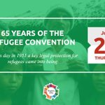 To celebrate 65 years of the Refugee Convention, an explainer on how refugees are protected https://t.co/WiORVt3eIn https://t.co/AXLxpNsaT5