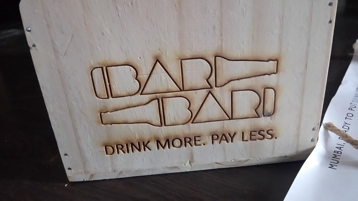 Enroute to @BARBARMumbai India's 1st.wholesale bar-now in #Mumbai at @MarketcityKurla  ...