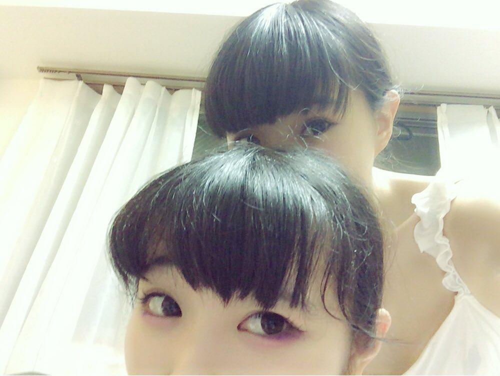 リンリンが家に来た💗明日のために声を出さないから沈黙。笑  あしたは渋谷のチェルシーホテルで BiS…