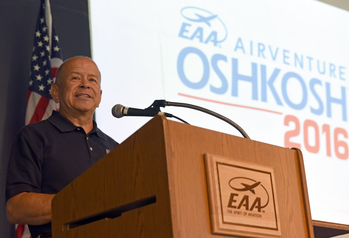 FAA Administrator Talks Safety and Innovation at AirVenture