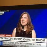 Yassssssss @SarahEMcBride make that history! https://t.co/yWjQyNa7sm