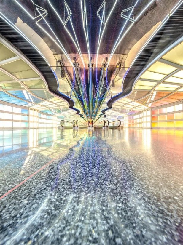Thank you to @MetroUK for naming O'Hare one of the world's most beautiful airports!
