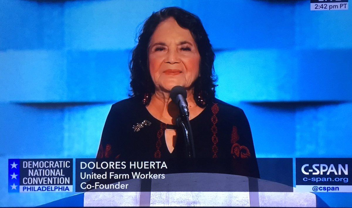"#DNCinPHL @DoloresHuerta ""Who's got the power? Voting Power! We do!"" #LatinxPride #SiSePuede #DemsInPhilly https://t.co/XPRvXjbg9P"