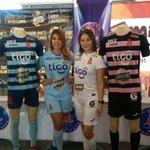 .@AlianzaFC_sv presenta sus nuevos uniformes para esta temporada. https://t.co/zjxGkf9CfB