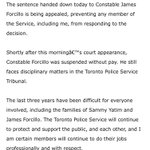 Statement from Toronto Police Chief @marksaunderstps #Forcillo https://t.co/Jkb88GgsDh