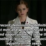 #IAmAFeminist because when you believe in equal rights, its the only think that makes sense. https://t.co/aLeFPUXoOc