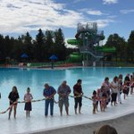 Our federal & provincial funding partners got their feet wet helping us cut the ribbon to reopen Henderson Pool! https://t.co/8DG38uFdEZ