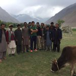 With the local people in Shigar Valley https://t.co/i98wS6XrUh