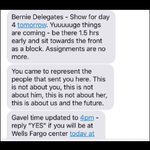 Sanders delegates prepare to hit the Wells Fargo Center early to get good seats to act out during Clintons speech https://t.co/3PdzUN0AsM