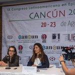 Rueda de #prensa en @CancunICC para el próximo #Congreso @EpilepsyCongres del 20 al 23 agosto. @VivoEnCancun https://t.co/YjJYo8zmqG