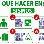 #Recuerda en caso de #SISMO Mantén la calma, no uses los elevadores, aléjate de ventanas y objetos que puedan caer https://t.co/K4zShhTPe7