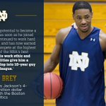 Four years with the @celtics for 5.5 million All 😃s for @D_Jay11 from @NDmbb and @NDMikeBrey https://t.co/Id2pSNQ3eX