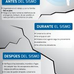 En un sismo, mantén la calma y ten en cuenta las siguientes recomendaciones por tu seguridad. #SismoGDL https://t.co/Iu5lDO2U7z
