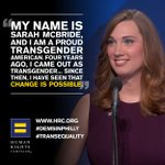 .@HRCs Sarah McBride made history today at the #DemConvention. RT to congratulate her! https://t.co/qRrtpIpOVP https://t.co/n5tw1L3GYR
