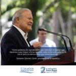 #GobSV   Presidente Sánchez Cerén saluda a los periodistas salvadoreños 👉https://t.co/cH1m1AKknZ https://t.co/QSnP0IgW7b