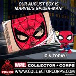 RT & follow @OriginalFunko for the chance to win a Spider-Man box from @CollectorCorps! https://t.co/jA4IfQePWP https://t.co/U3mF6NZ932