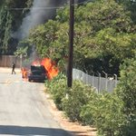 @DowneyPatriot @mikepagan Bell Gardens police cruiser on fire on Bluff Road.  Back side of Island. https://t.co/pMyYsERSKw