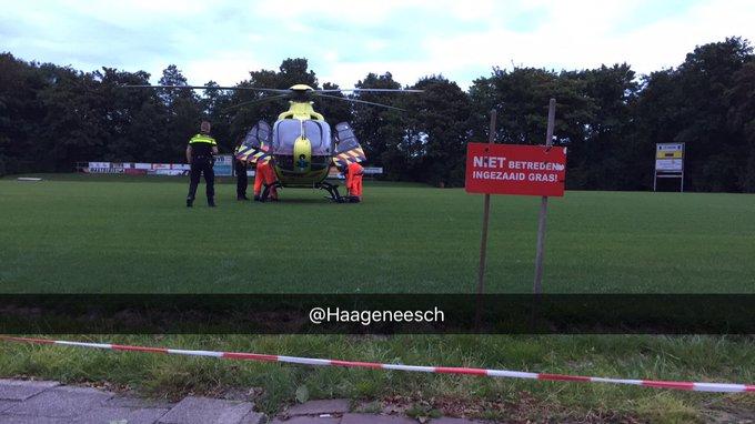 RT @Haageneesch: Nood breekt wet bij noodsituatie #Maasland. MMT ter plaatse, spoedambu onder begeleiding @VerkeersagentDH naar zkhs. https…