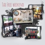 In honor of Tax Free Weekend- all our retail is TAX FREE. Come in and stock up. #shoplocal #Knoxville #kevinmurphy https://t.co/s7552rJbZ1
