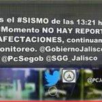 #EnMedios: Protección Civil no reporta afectaciones tras el sismo ocurrido hoy al suroeste de Nuevo México Jalisco. https://t.co/zzEBdxinl6