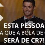 Acha que @Cristiano leva mais uma Bola de Ouro? Então dá RT! https://t.co/s7pdTksHhR