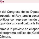 El art. 99.2 de la Constitución deja claro que Rajoy, candidato propuesto, debe ir al debate de investidura. https://t.co/dgsj4aCcXd
