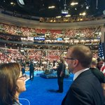 Honored to address the #DemConvention this afternoon. But even more excited for America to meet @SarahEMcBride! https://t.co/bJqJyLWt4T