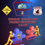Mark your Calendars for Pueblo PDs 2016 Neighborhood Safety Night Tuesday 4-9 PM @ Pueblo Riverwalk. https://t.co/eRrrod3dHQ