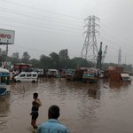 Millennium city #Gurgaon a day after rains at Hero Honda chowk @HTGurgaon https://t.co/AIelgFR2Fc