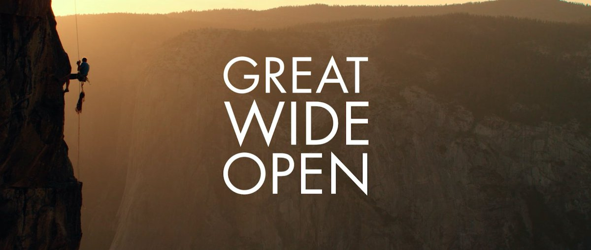 #GreatWideOpen Episode 1 with @tommycaldwell1. Watch, share + subscribe. https://t.co/7NMYl5fo4W https://t.co/H2LSRpIXyp
