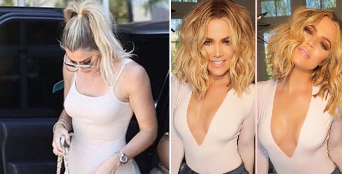 People are *so* confused by the latest pap pictures of Khloe Kardashian's body...