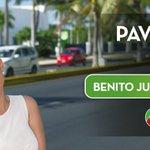 #BenitoJuárez #HoyEstáMejor con avenidas pavimentadas. #ResultadosQueTransforman https://t.co/BJzVeCTxnA