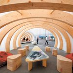 A @UBC student helped create wood-ribbed warming huts for @TEDTalks in #YVR https://t.co/mODvsArxTA @JOC_Canada https://t.co/MU5IrZPyHt