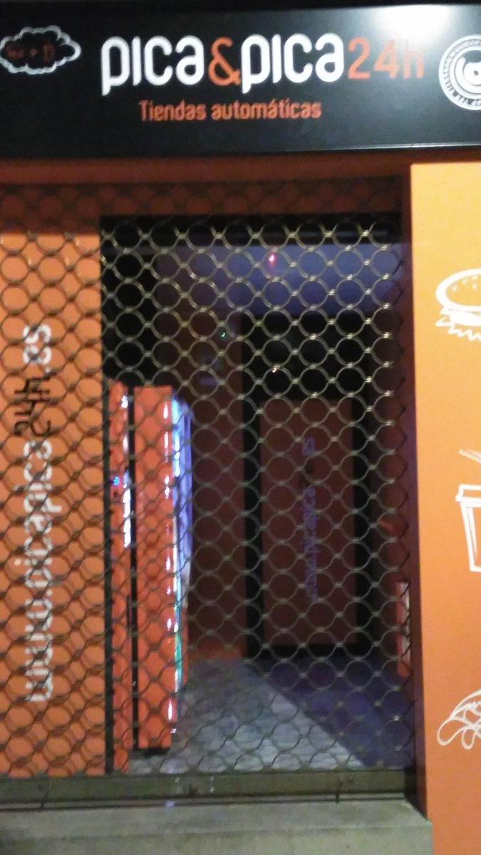 En Ciudad Real somos así, las máquinas 24 horas cerradas a las 12. @wikiCR https://t.co/I6t20t1eNt