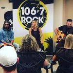 So awesome to have @PopEvil join us at the station today! Cant wait to see them perform tonight at @AverageJoesLeth https://t.co/tOPfTeahfg
