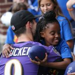The kids of @CaseyCares met their fave @Ravens today. The players, including @jtuck9 were amazing, as always @NFL https://t.co/l70PmxQSeR
