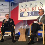 """@US_EUCOM GEN Scaparrotti: """"We need to be bold about putting spotlight"""" on Russian disinformation @AspenSecurity https://t.co/Hy9FeEJRmX"""