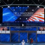 #Progress going from having zero flags to hiding a few flags on stage. #DemsInPhilly #DemConvention #LiberalLogic https://t.co/ILAGahyO01