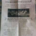 Disgusting flyer left on doorsteps this morning in #Chilliwack. @NEWS1130 @CBCVancouver @GlobalBC https://t.co/hRMJXdySkw