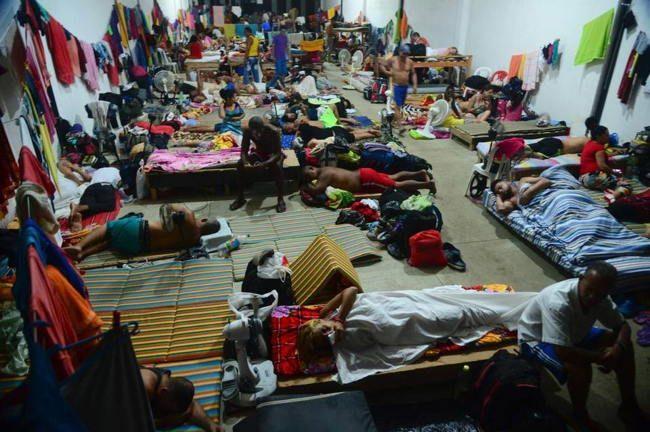 Más de 1200 migrantes cubanos están varados en Colombia