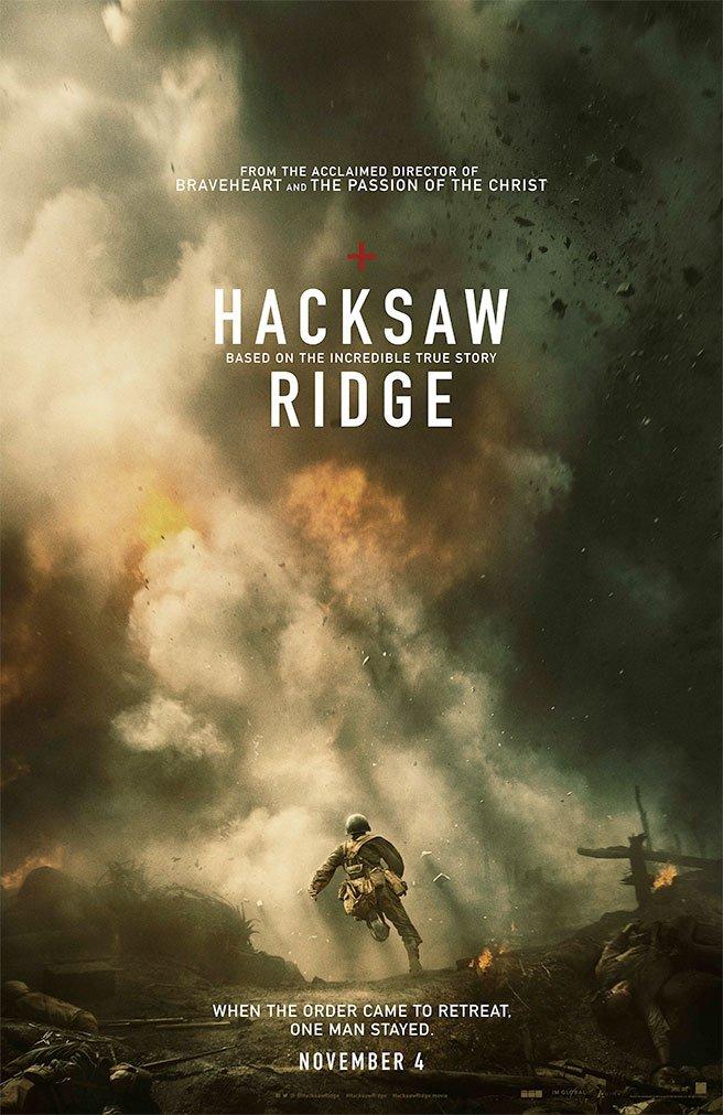 メル・ギブソン監督作「Hacksaw Ridge」予告編。第二次世界大戦下、銃を持つことを拒否した衛…