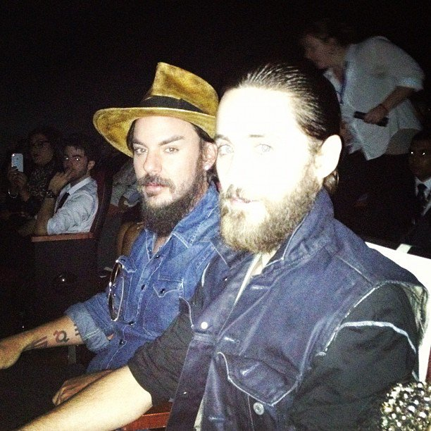 Me + @ShannonLeto. #Artifact #Fbf https://t.co/5fAT1kakJB