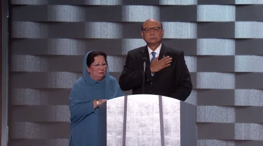 Khizr Khan's son was in the Army, and was 1 of 14 American Muslims who died serving the US in the decade after 9/11.