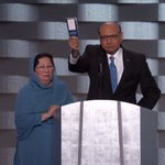 """""""Have you even read the U.S. Constitution?"""" Khizr Khan asks Donald Trump. """"I will gladly lend you my copy."""" https://t.co/Bhy23uT42x"""