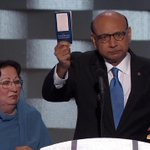 Khizr Khan to Trump: Have you even read the U.S. Constitution? I will gladly lend you my copy. #DemsInPhilly https://t.co/zbpJ5pxkPB